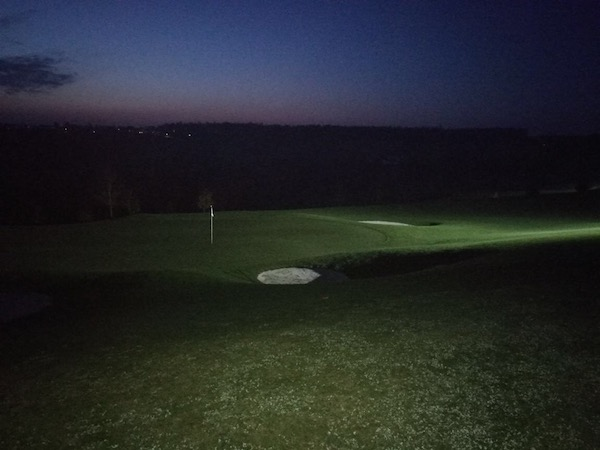 Night-Light-Turnier am 3. November 2017 bei Panorama Golf