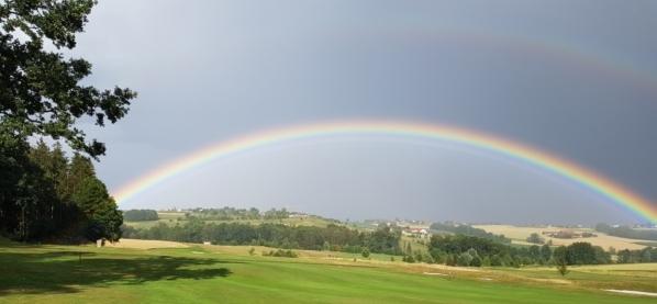 Regenbogen Clubhaus Panorama-Golf