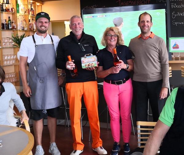 Sonnwend-Turnier bei Panorama Golf am 23. Juni 2018, Sieger Netto B