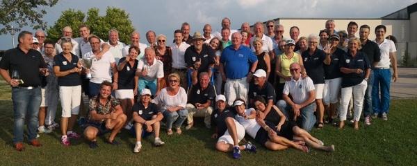 Alle Teilnehmer am Ryder-Cup bei Panorama-Golf am 28. Juli 2018